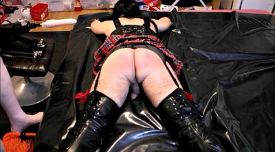 Spanks, Crossdressers, Spanking punishment