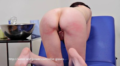 Enema, Whip, Girl spanked