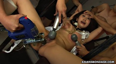 Japanese bdsm, Machine sex, Japanese dildo, Tied tits