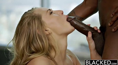 Escort, Interracial blowjob, Massive cumshot