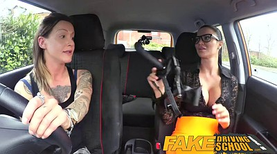 Fun, Strap on, Fakes, Fake tits, Fake driving school, Driving school