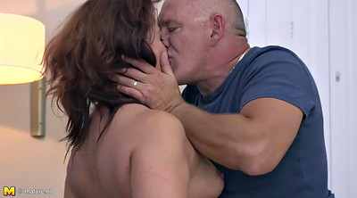 Russian mature, Red milf, Mary