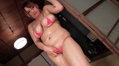 Chubby, Japanese tits, Japanese oil, Japanese bbw, Rubbing, Asian chubby