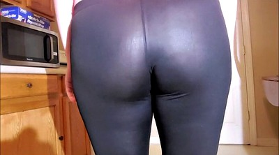 Leather leggings, Spandex