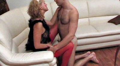 Russian mature, Amateur mature, Young woman, Mature boy