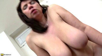 Family, Busty mature, Old mature, Busty granny, Young mothers, Young mother
