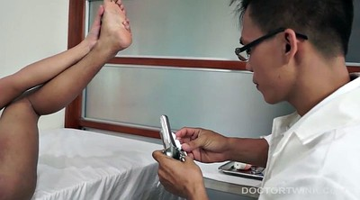 Doctor anal, Asian doctor, Gay asian, Asian anal dildo