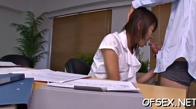 Office, Asian babe