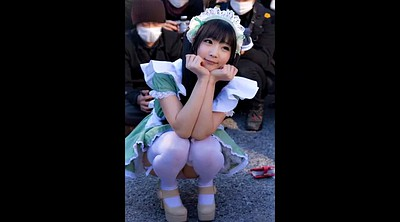Cosplay, Japanese girl