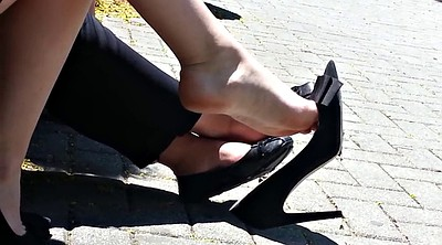 Shoe, Heels, Candid, High
