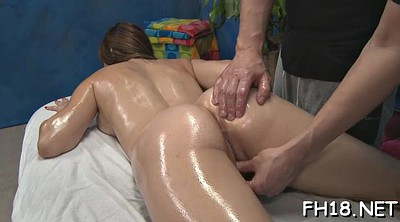 Old slut, Oil massage