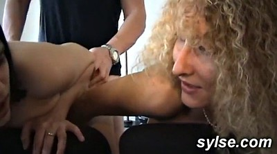Old man, Mature toy, Old and young lesbian, Mature and young lesbians, Lesbian strapon