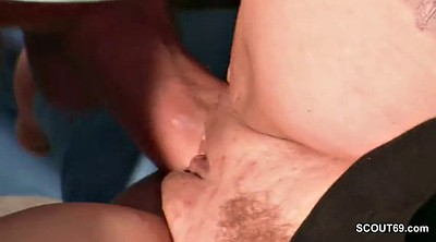 Step mom, Throat fucking, Seduced mom, Seduce mom, German mom, Big tits mom