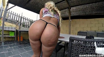 Anal solo, Big ass solo, Outdoor anal