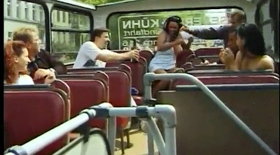 Bus, Mature orgy, Bus sex, Public bus, Handjob mature