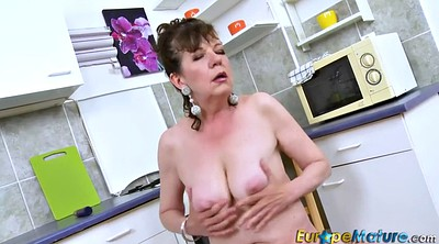 Hairy mature, Granny solo