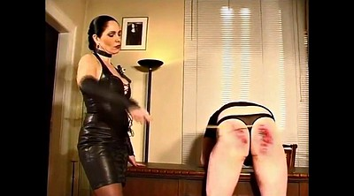 Latex, Mistress, Caning, Caned, Latex german, German spanking