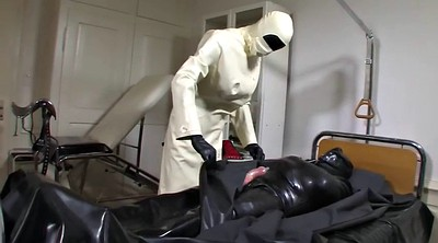 Leila, Rubber, Doctor sex, Bdsm doctor