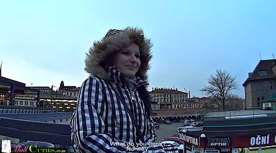 Street, Czech streets, Young pov, Young girl