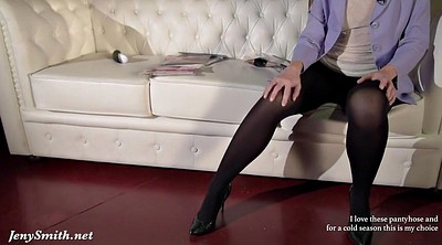 Nylon foot, Pantyhose foot, Jeny smith
