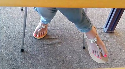 Candid, Asian feet, Face