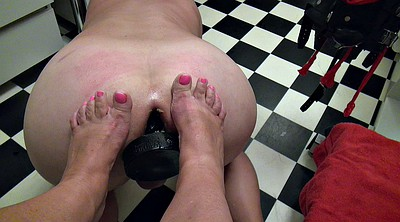 Fist, Feet cum, Double fisting, Foot anal, Nurse anal, Foot femdom