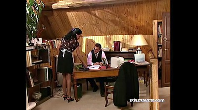 Boss, Vintage anal, Relax, Anal maid, Boss anal
