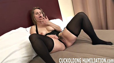 Watching, Wife swallow, Wife watches, Watching wife, In front of