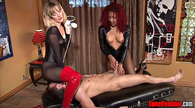 Femdom, Strap on, Table