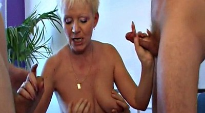 Young old, Mature gangbang, Mature and young, Many