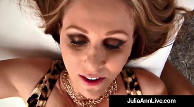 Julia ann, Famous, Cum on tits