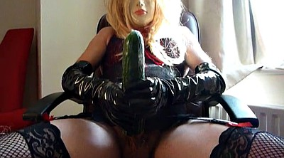 Crossdresser, Pump, Hard, Cucumber