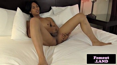 Femboy, Jerking, Asian solo