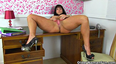 British, Mature pantyhose