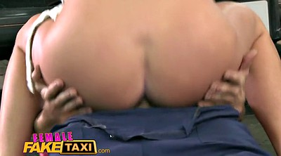 Czech taxi, Female fake taxi, Faking