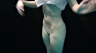 Flexible, Pale, Underwater