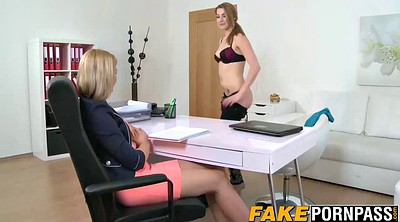 Female agent, Cast, Casting agent, Busty casting