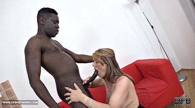 Step mom, Step, Cum swallow, Black mom, Step caught, My mom