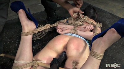 Faye, Suspended, Rope