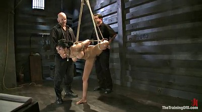 Deep anal, Tied up
