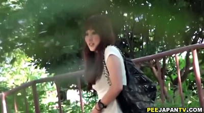 Spy, Piss, Japanese public, Asian girl, Japanese piss, Japanese peeing