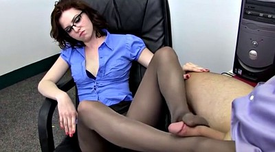 Foot job, Foot job, Pantyhose feet