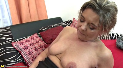 Dildo, Moms, Old lesbian, Mature and young