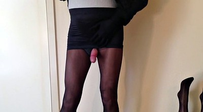 Stockings masturbate, Small, Nylon, Leggings, Toying, Stockings masturbating