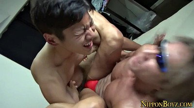 Asian anal, Muscle gays