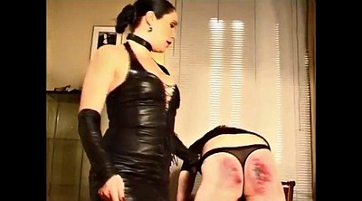 Caning, Femdom caning, Caned, Spanks, German latex