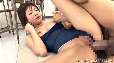 Asian teacher, Asian blowjob
