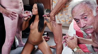 Farting, Pickup, Hotel, Old and young, Granny gangbang