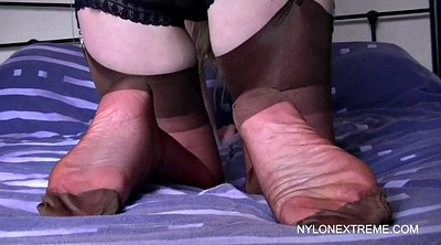 Nylon, Nylons, Big ass anal, Ass nylon