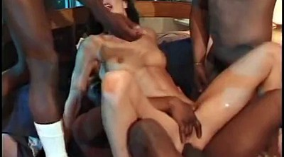 Asian gangbang, Asian beauty